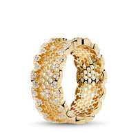 PANDORA Shine Honeycomb Lace Ring