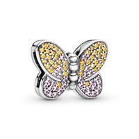 PANDORA Reflexions Bedazzling Butterfly Clip Charm