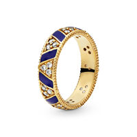 Exotic Stones & Stripes Shine Ring